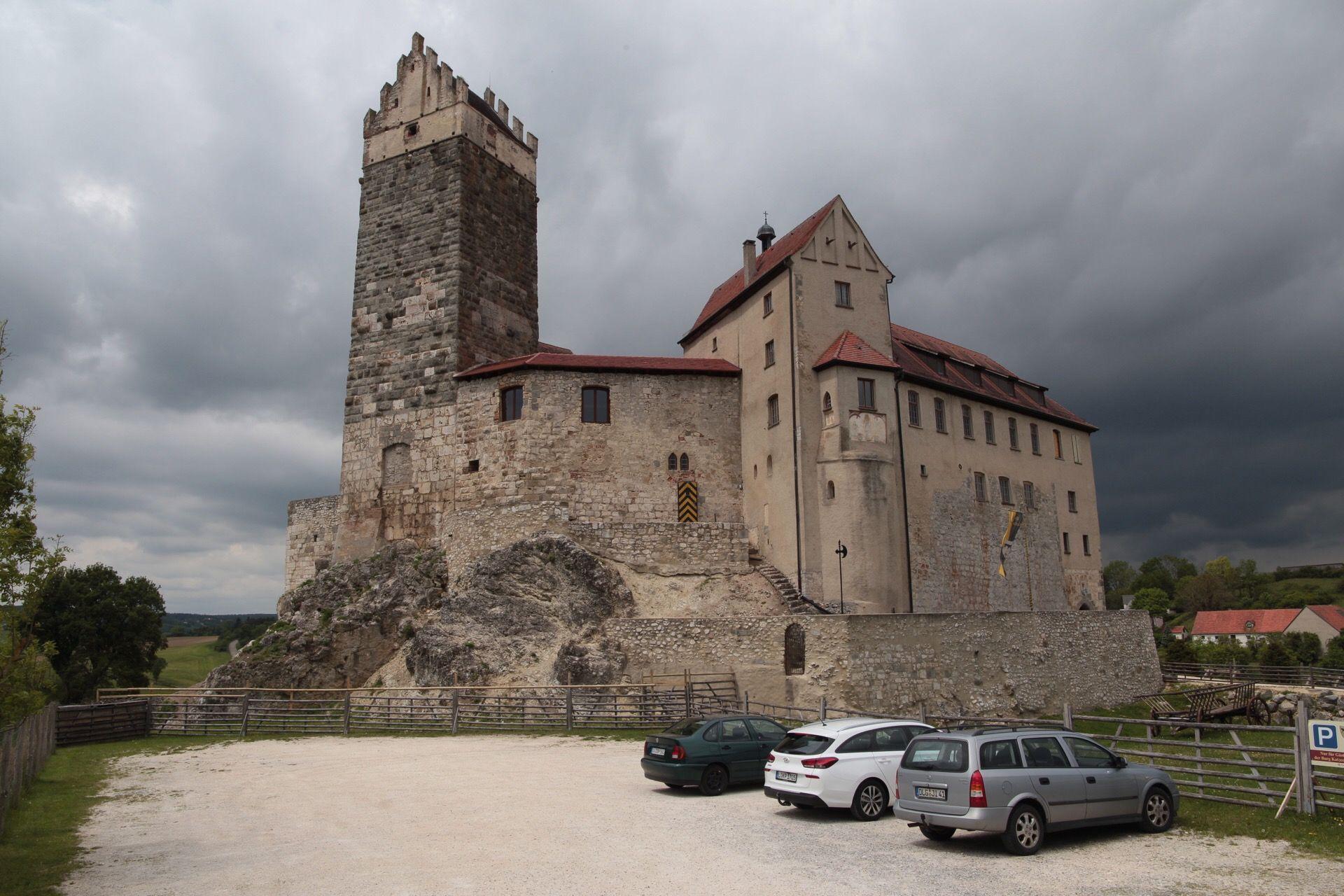 Burg Katzenstein Burg Katzen Wurttemberg