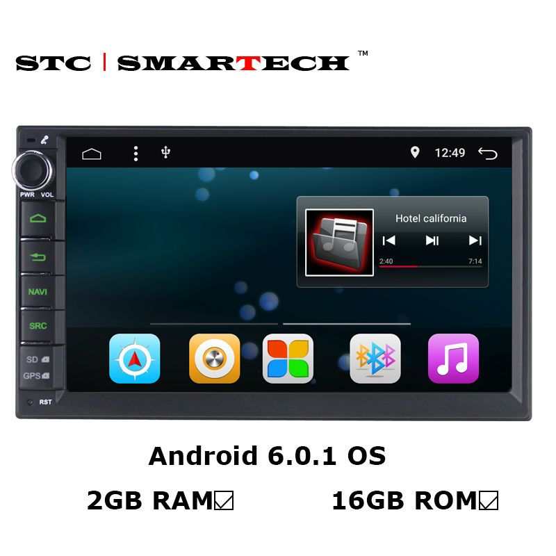 7 inch Car DVD Player Android 6 0 2GB Indash Stereo GPS Nav For BMW X5 E53 A OBD