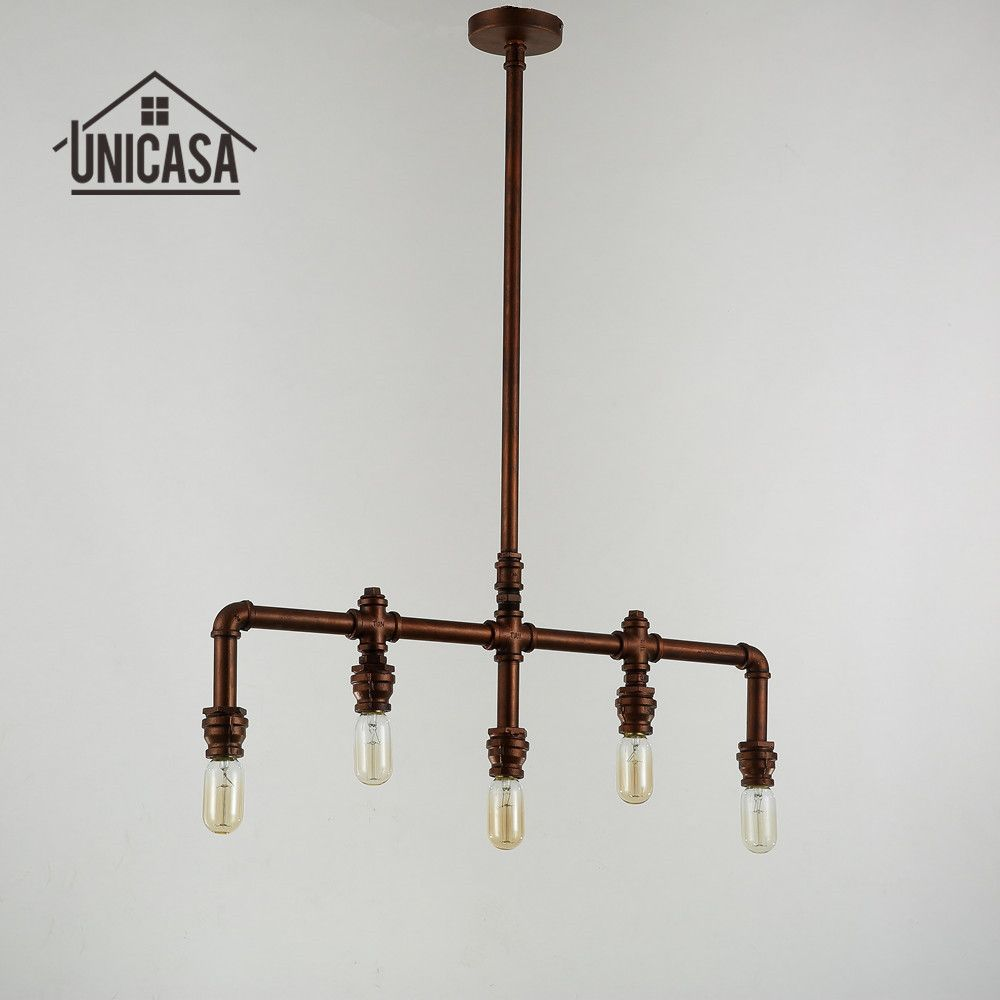Wrought Iron Pendant Lights Vintage Industrial Lighting Office Bar - Wrought iron pendant lighting kitchen
