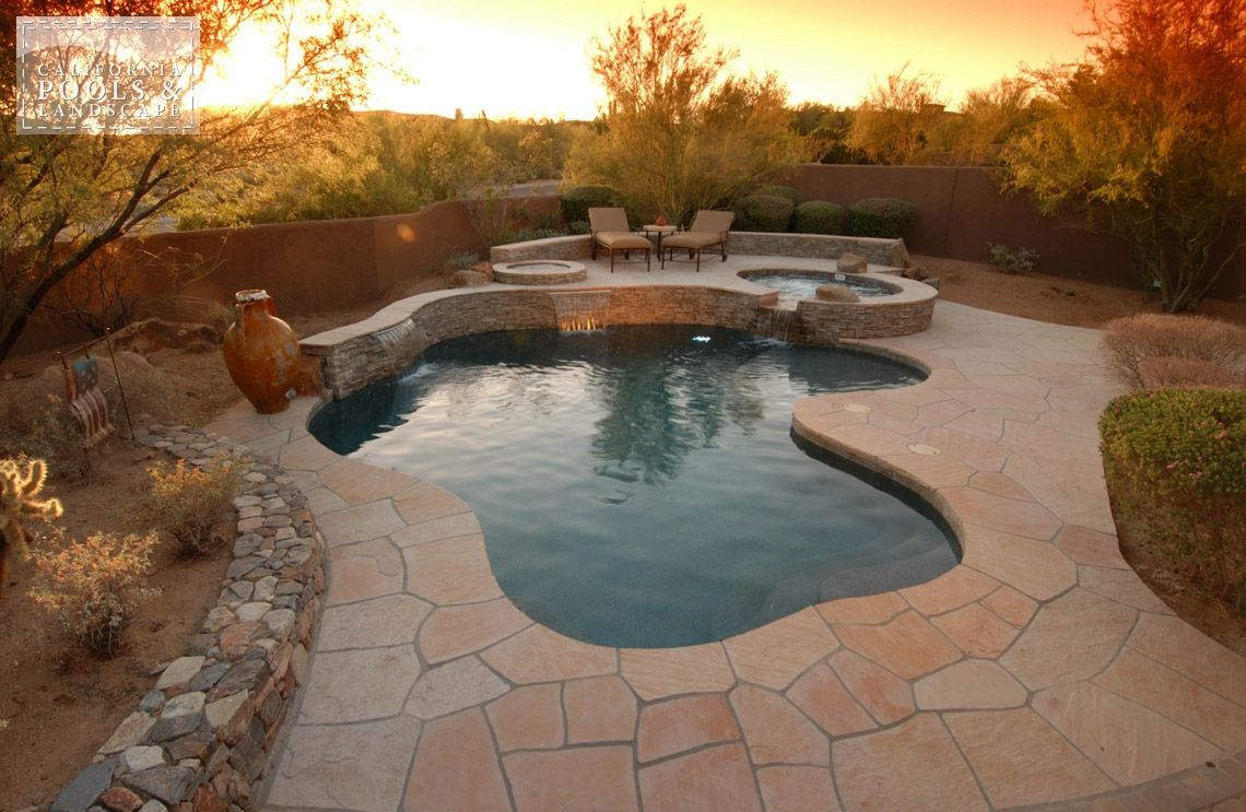 Swimming pool by cpl builders phoenix arizona az - Swimming pool contractors phoenix az ...