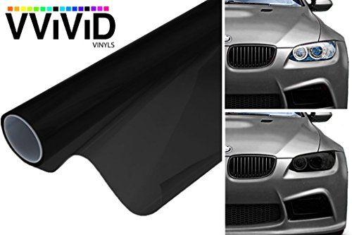 VViViD Air-Tint Dark Black Headlight Taillight Tint Air-Release Vinyl Wrap Film 17.75 x 60 Roll