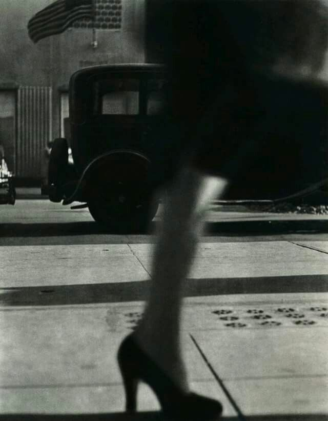 by Lisette Model, NYC 1948.