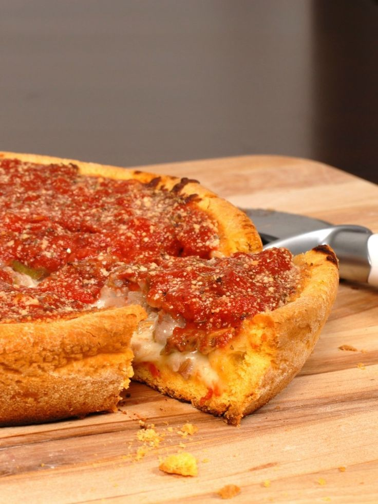 Gluten Free Chicago Style Deep Dish Pizza Recipe In 2020 Food