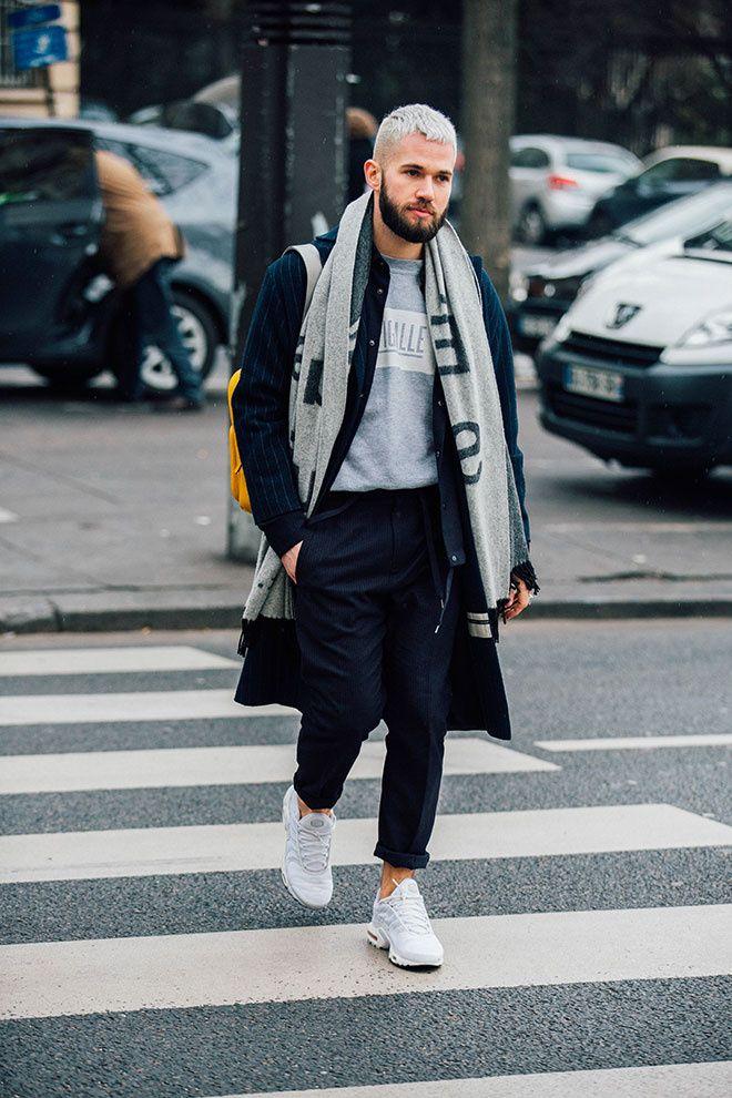 Street looks à la Fashion Week homme à Paris Moda masculina, Moda