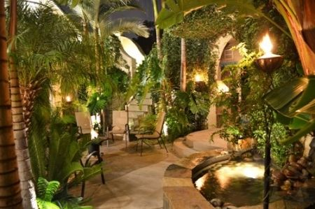 Outdoor Gardens Landscaping Living Spaces
