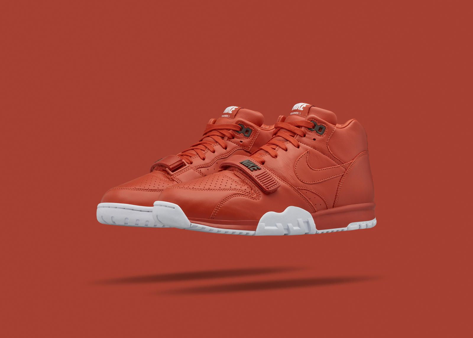 9817eabb5c NikeCourt Air Trainer 1 Mid x fragment: Beauty In Brick | Sneakers ...