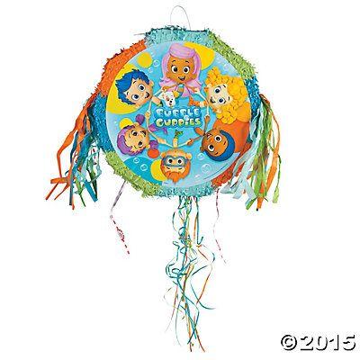Bubble Guppies Pop-Out Piñata, Pinatas, Party Decorations, Party ...