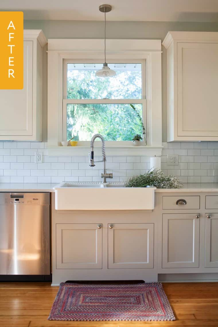 1960s Kitchen Remodel Before After: Before & After: A Beautiful Kitchen Remodel For A Baking
