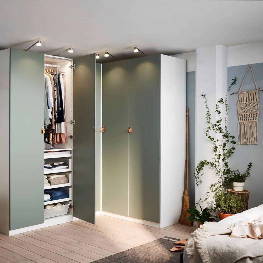 Armoire Gain De Place rangement gain de place : des meubles d'angle qui optimisent