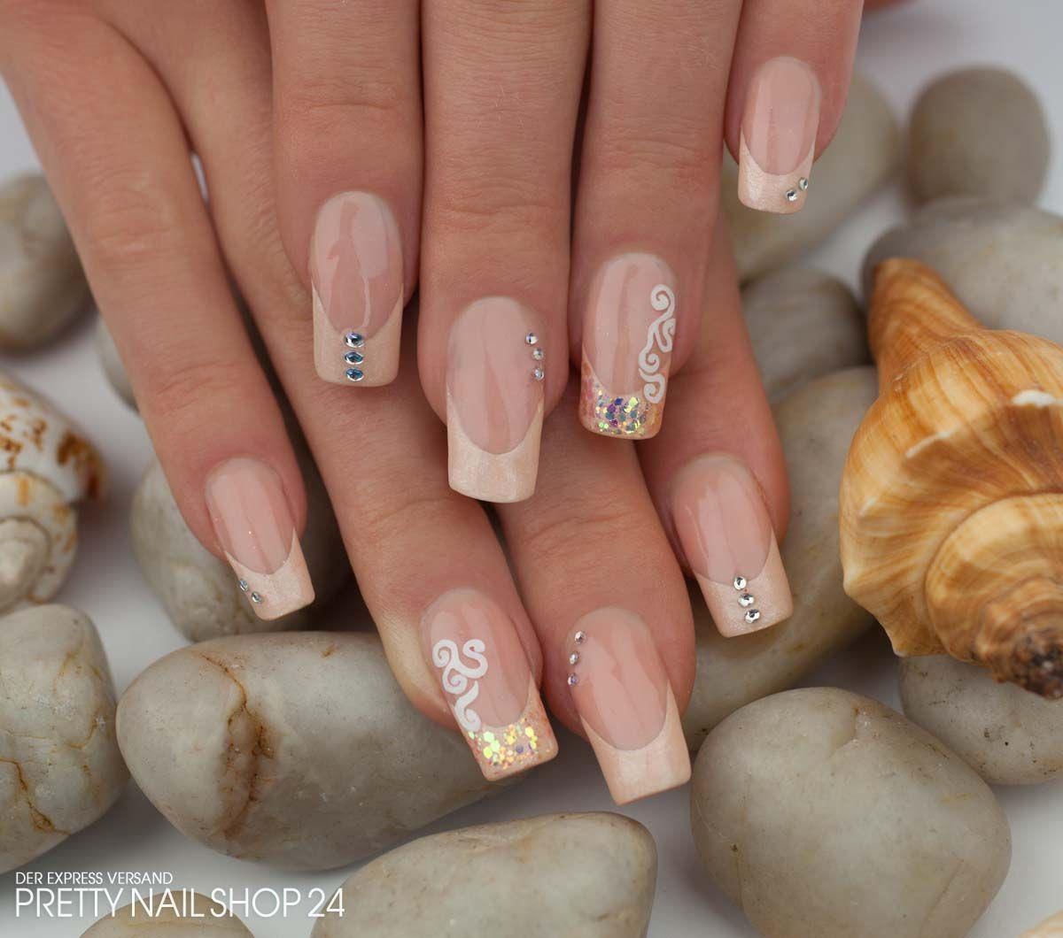 nails #nailart #pastell #uvgel Sommerliche Nägel hat sich meine ...