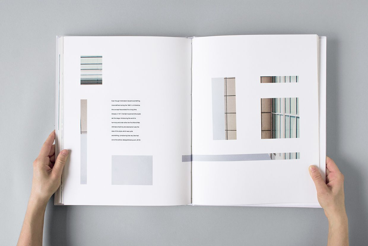 - + Book about Minimalism on Behance