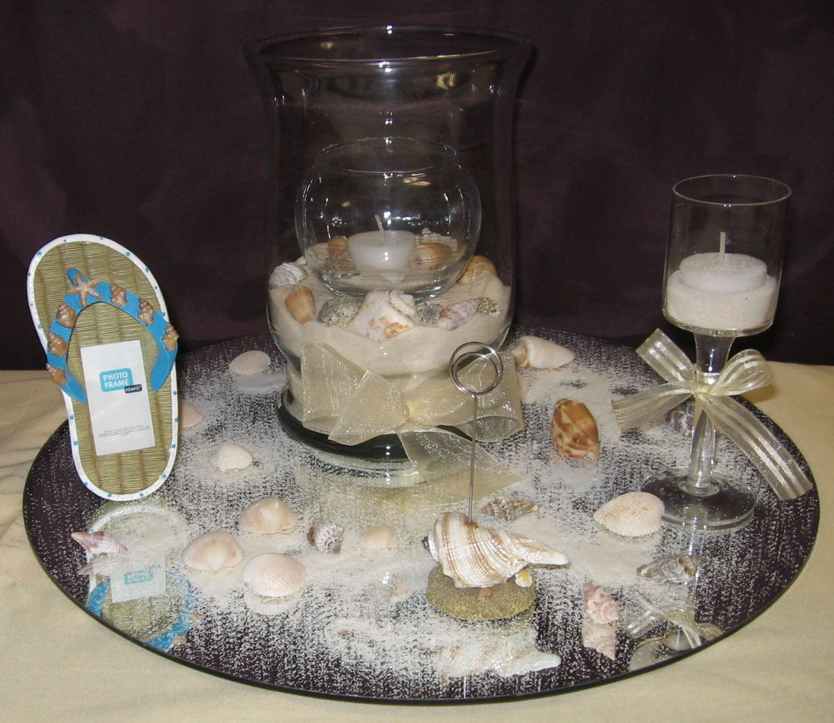 Beach Wedding Centerpieces Ideas: Beach Wedding Ideas - Bing Images