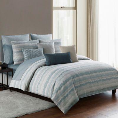 Highline Bedding Co Dune Reversible Duvet Cover Set In Sea Glass Highline Bedding Co Comforter Sets Bedding Sets Grey