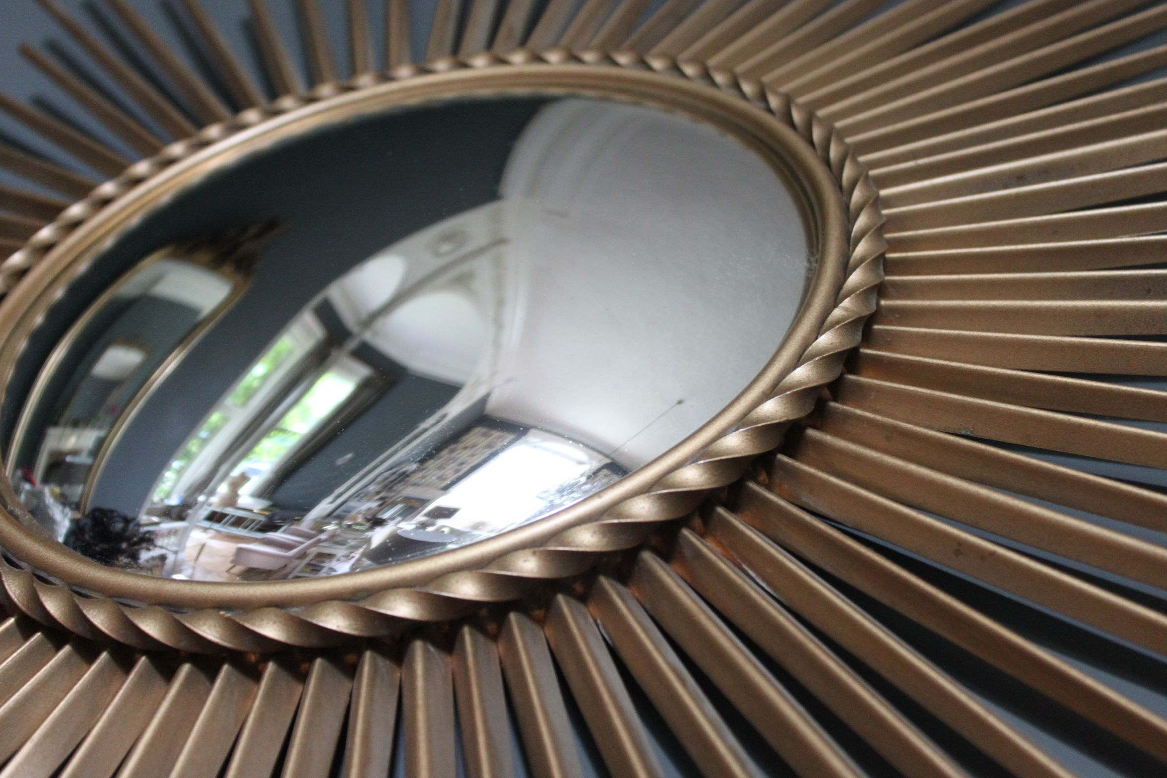 Original Chaty Vallauris sunburst mirror from www.thevintagetrader.co.uk