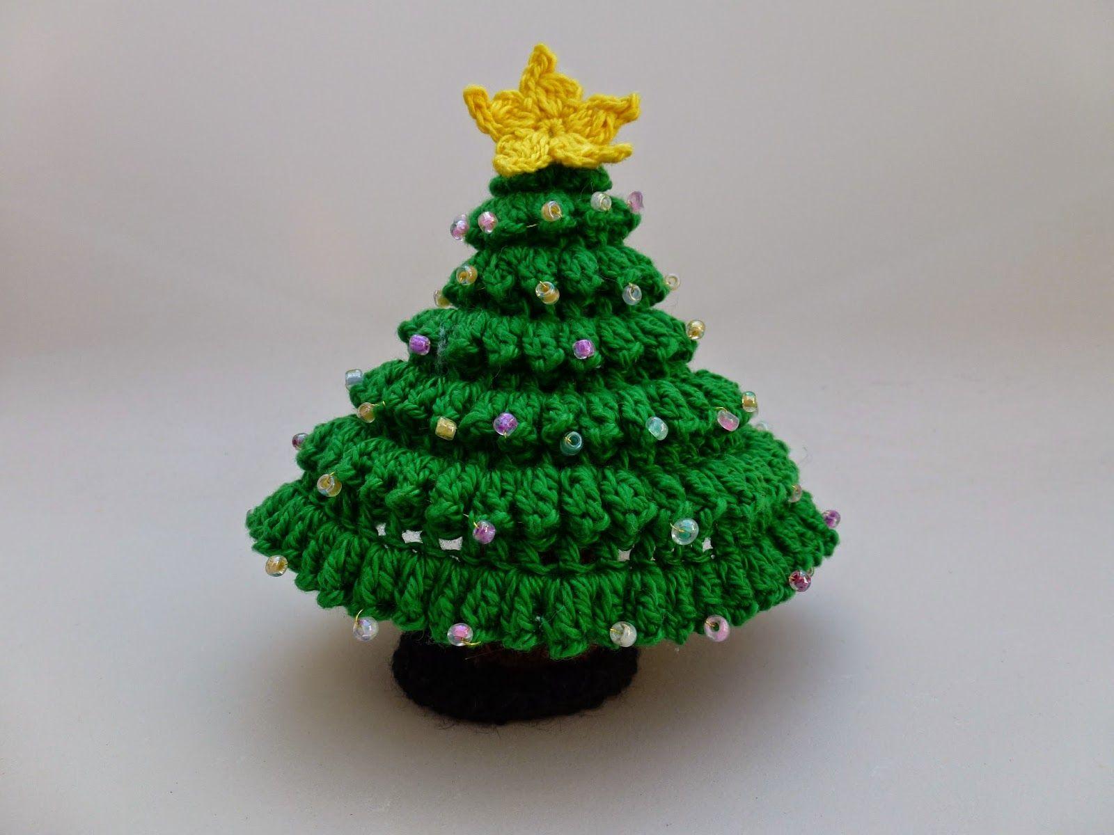 Tutorial De Amigurumis Navideños : Gumiario arbol de navidad amigurumis patrón gratis pattern