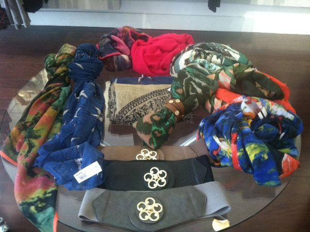Scarves...belts...and more!