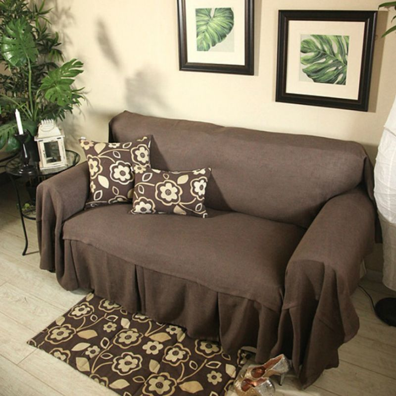 Great Solid Europe Single Seat / Double Seat / Sectional Sofa Cover Funda Sofa  Sofa Slip Cover