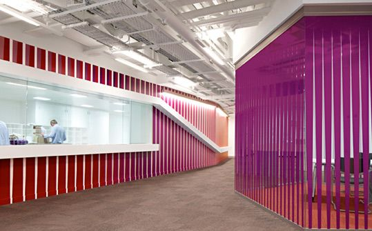 Macquarie Group London. Designed by EGG Office. @Enviromeant.com