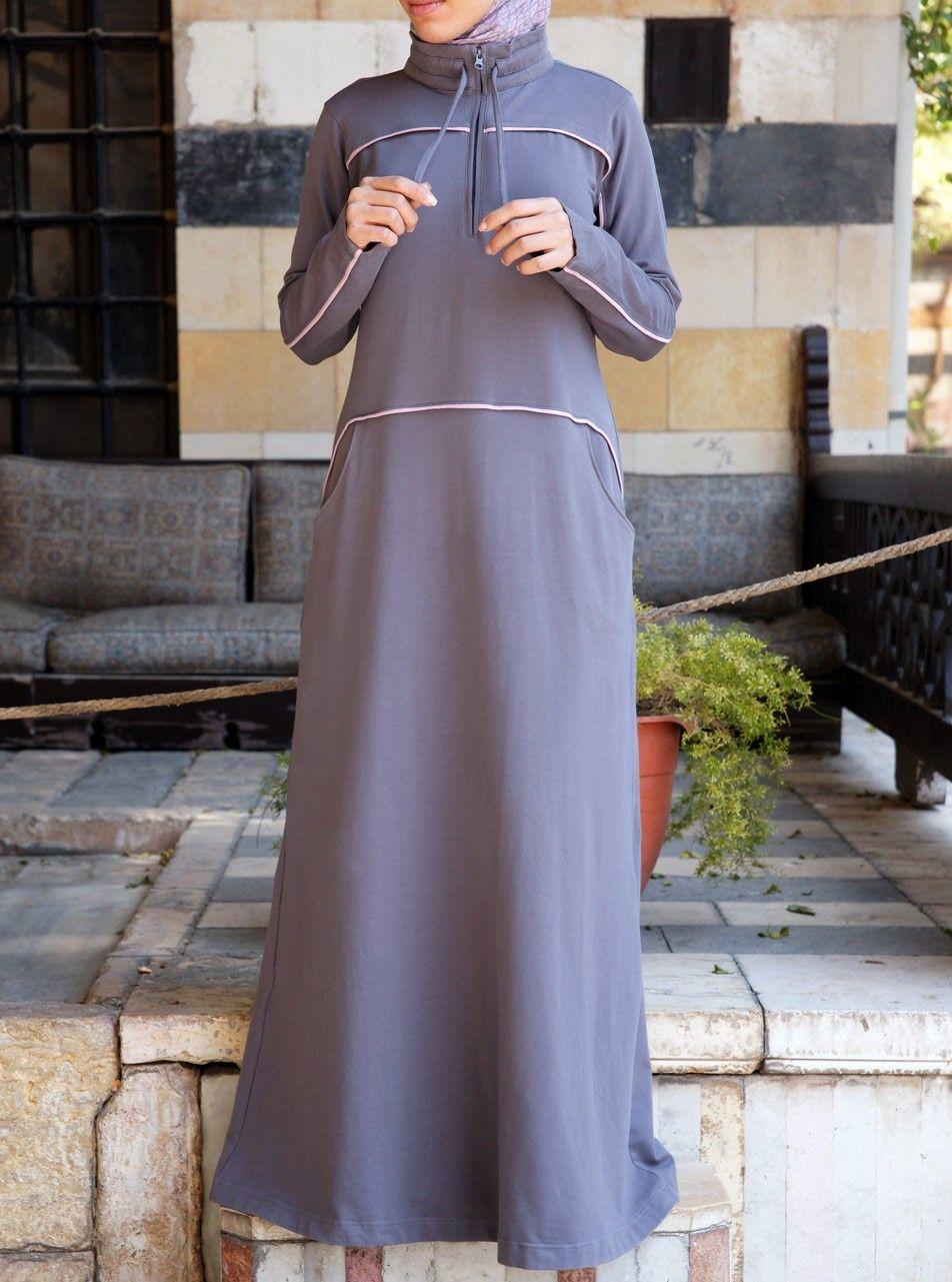 205844a5e11 Work Out Sports Maxi Dress in 2019 | Muslim life | Dresses, Hijab ...