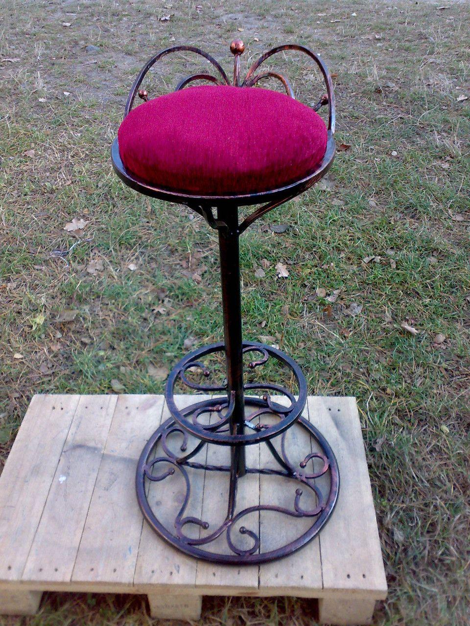 кованые барные стулья фото этом сама кузнецова