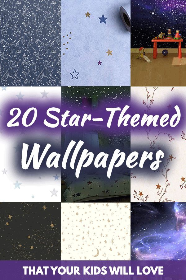 20 Star-Themed Wallpapers That Your Kids Will Love. Article by HomeDecorBliss.com #HDB #HomeDecorBliss #homedecor #homedecorideas