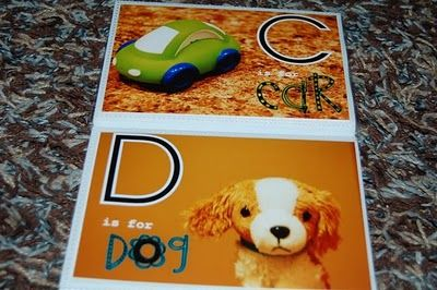 Photo ABC books for preschool or kinder