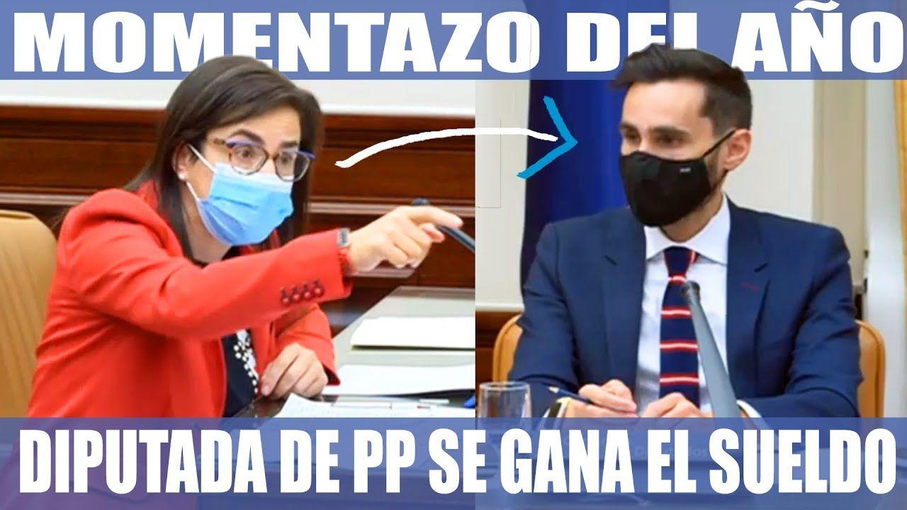 Momentazo Del Año Diputada Del Pp Explota Sin Piedad Contra El Secretario De Estado Videos