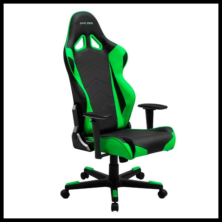 Dx Racer Racing Series Ergonomic Gaming Chair Oh Re0 Gaming Chair Sport Chair Green Chair