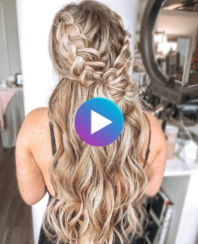 100 peinados lindos para cabello de niñas: looks casuales y de graduación   #c…
