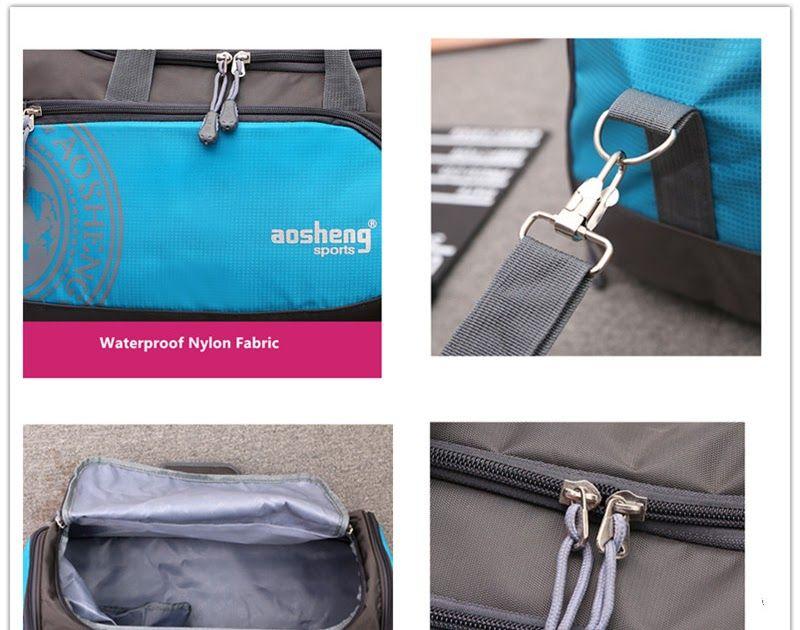 ff23a809fd54 Best Price New Professional Nylon Sports Gym Bag Women Men for Fitness Yoga  Training Shoulder handbags with Shoes Storage sac de sport