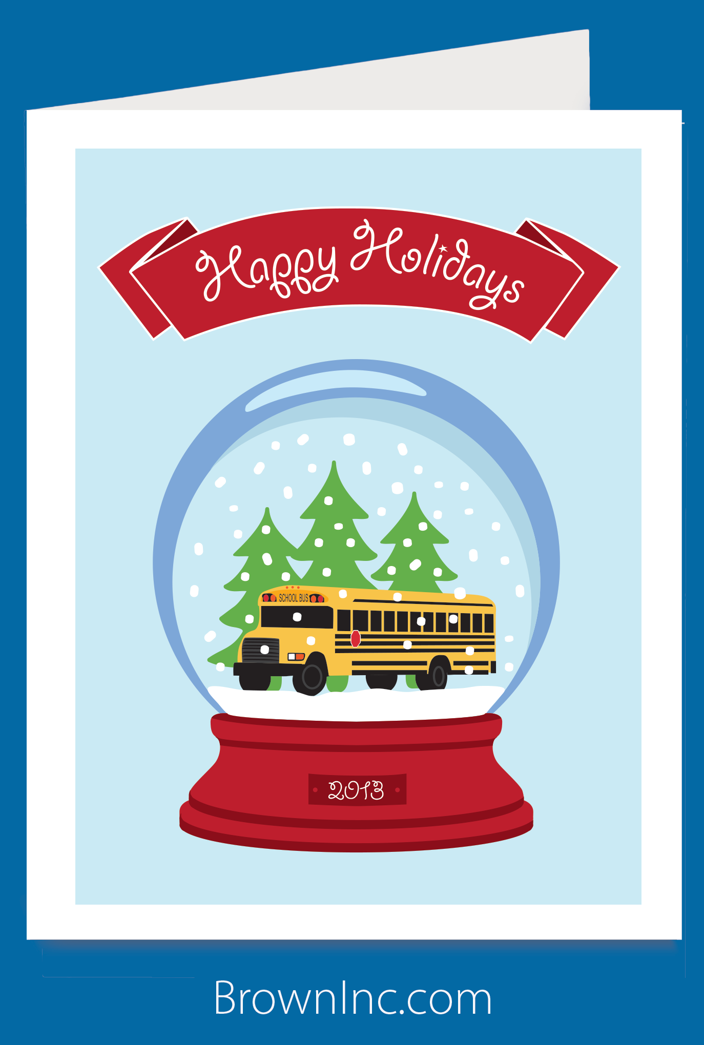 School Holiday Greeting Card Popular With Teachers Staff And Of