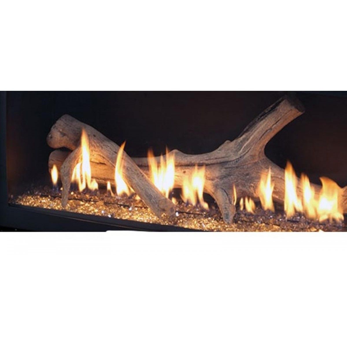 Majestic Adw600 Aged Driftwood Log Set For Wdv600 Gas Fireplace Logs Driftwood Fire Gas Fire Logs