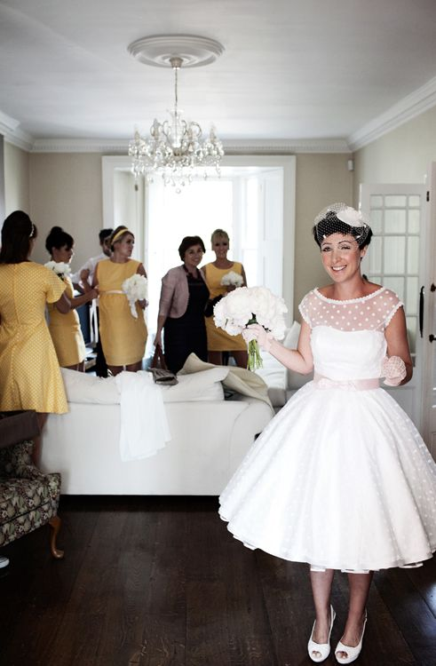 The 15 Prettiest Polka Dot Wedding Dresses For Y Bride Dots Remind Me Of You I Had To Pin These