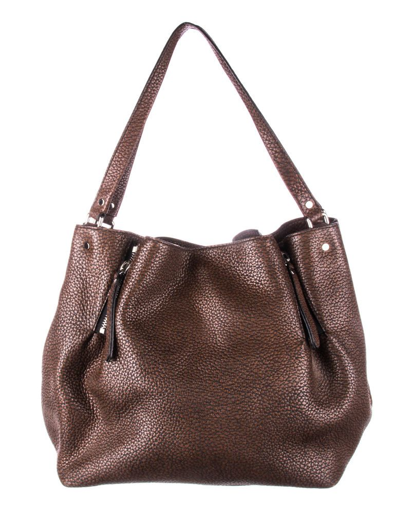 c0980f61b688 BURBERRY Brown pebbled Leather Maidstone Tote Bag  fashion  clothing  shoes   accessories