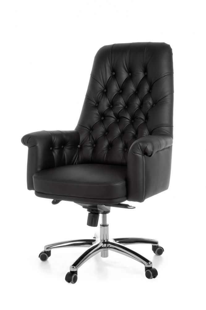 style echtleder chefsessel highland schwarz g nstig m bel online kaufen vieles sofort. Black Bedroom Furniture Sets. Home Design Ideas