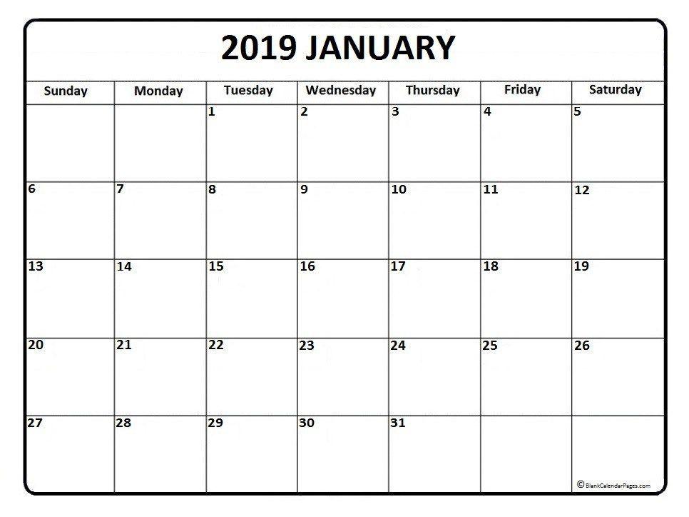 Calendar October 2017-January 2019 Free January 2019 Calendar | January 2019 Calendar | February