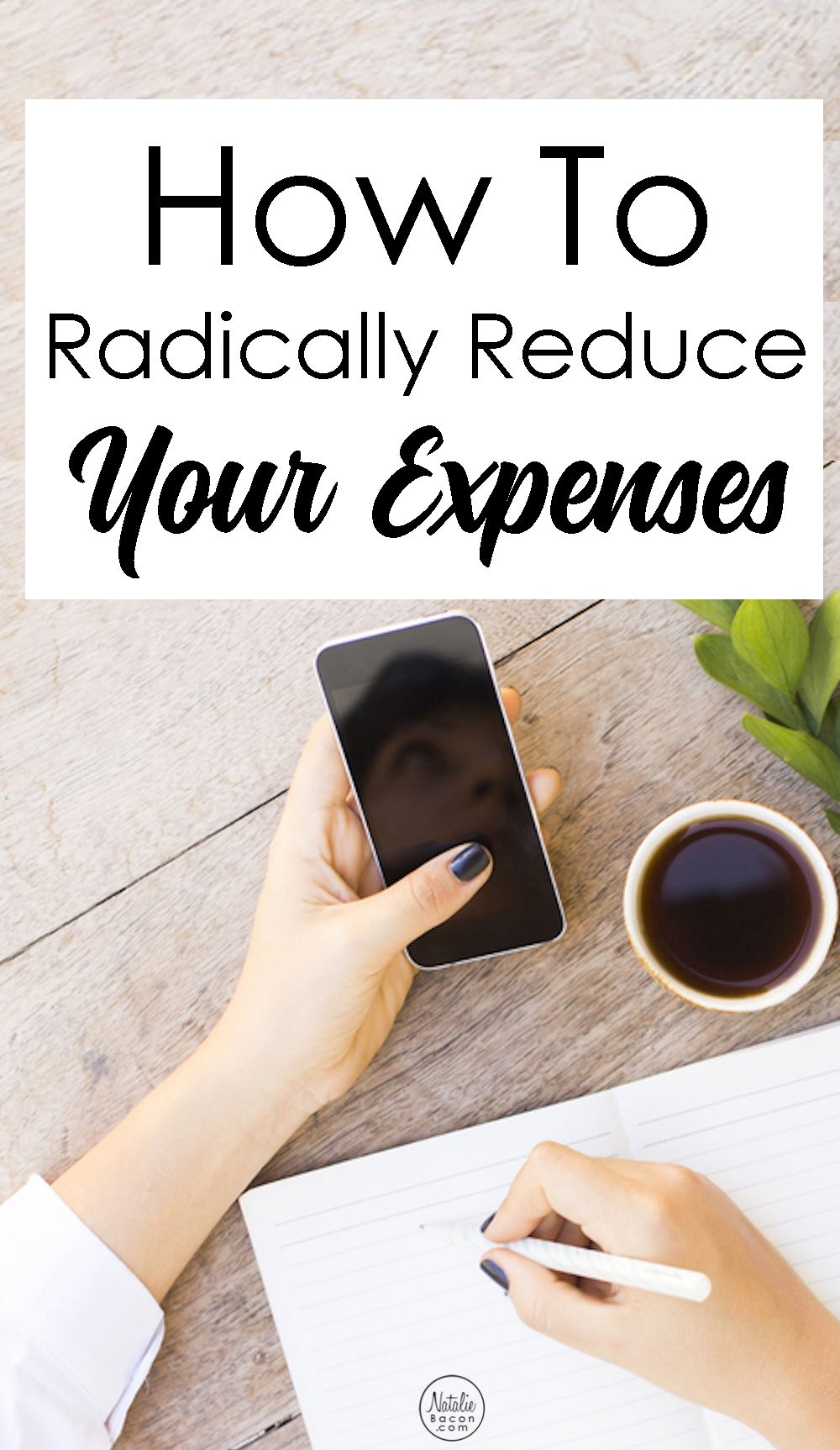 How to Radically Reduce Your Expenses | Pinterest | Geld sparen ...