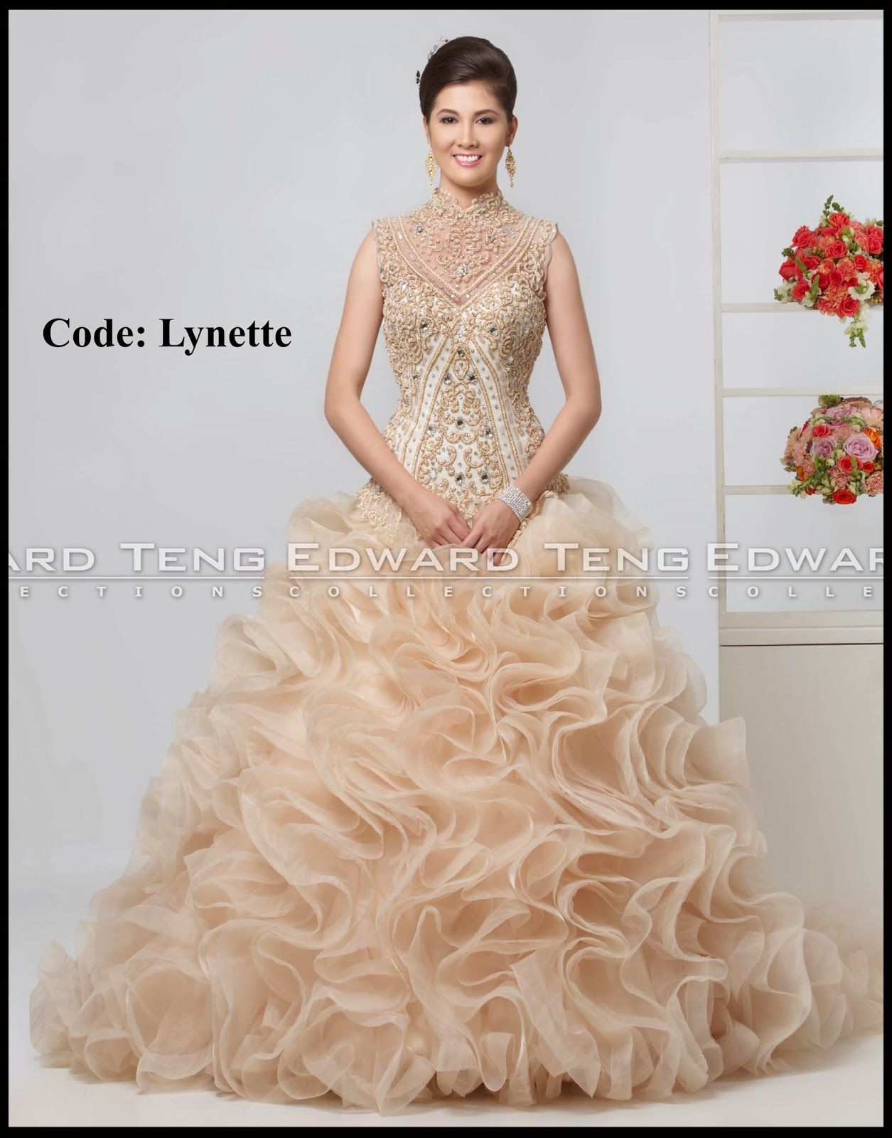 4a5ff19c3bf edward teng gown. edward teng gown Serpentina Gown