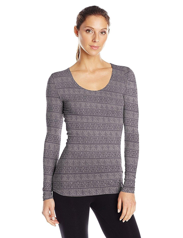 Womens Medium Weight Base Layer Shirt - Heather Light Stone - C312O4WVOIF | Base  layer shirt, Fashion clothes women, Scoop neck shirts