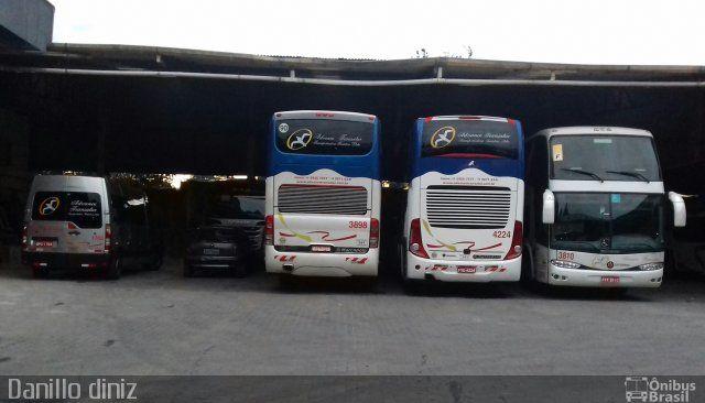 Ônibus da empresa Advance Transatur, carro 3898, carroceria Marcopolo Paradiso G6 1800 DD, chassi Scania K380. Foto na cidade de São Paulo-SP por Danillo diniz , publicada em 07/07/2017 19:13:38.