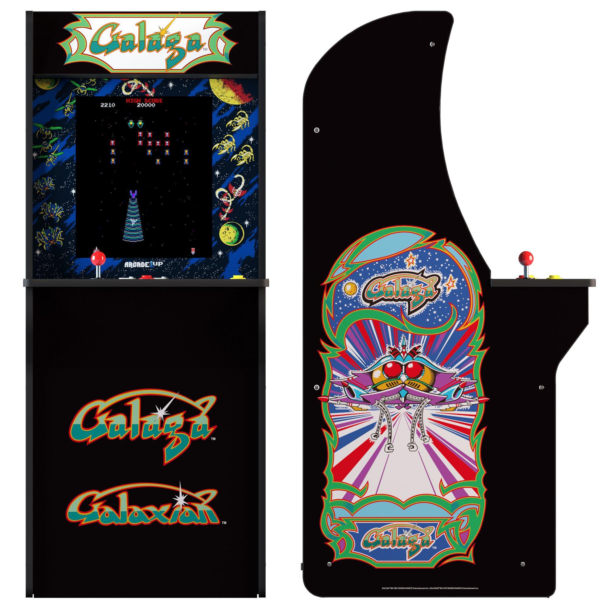 Arcade1Up Galaga Machine (Walmart Exclusive), 4ft#Machine, #Galaga