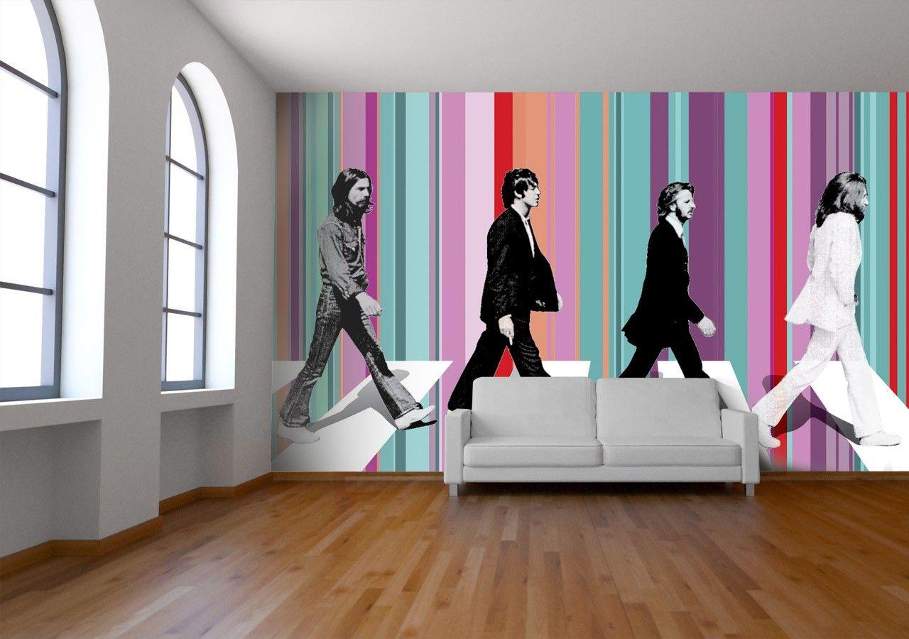 Beatles Wallpaper The Beatles Music Wall Murals