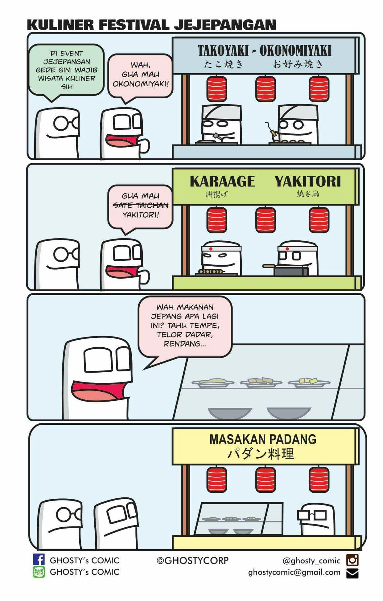 Ghosty comic (Dengan gambar) Tahu, Makanan jepang, Masakan