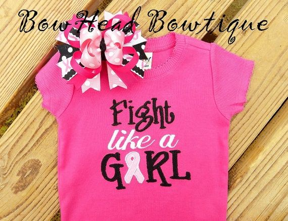 breast cancer awareness cheer shirts   to cheer mommy on for the 3 day walk