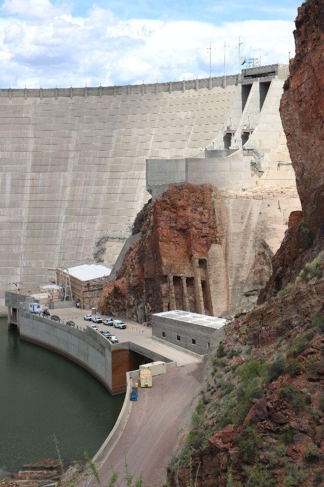 Roosevelt Dam Az Roosevelt Dam Hydroelectric Dam Water Dam