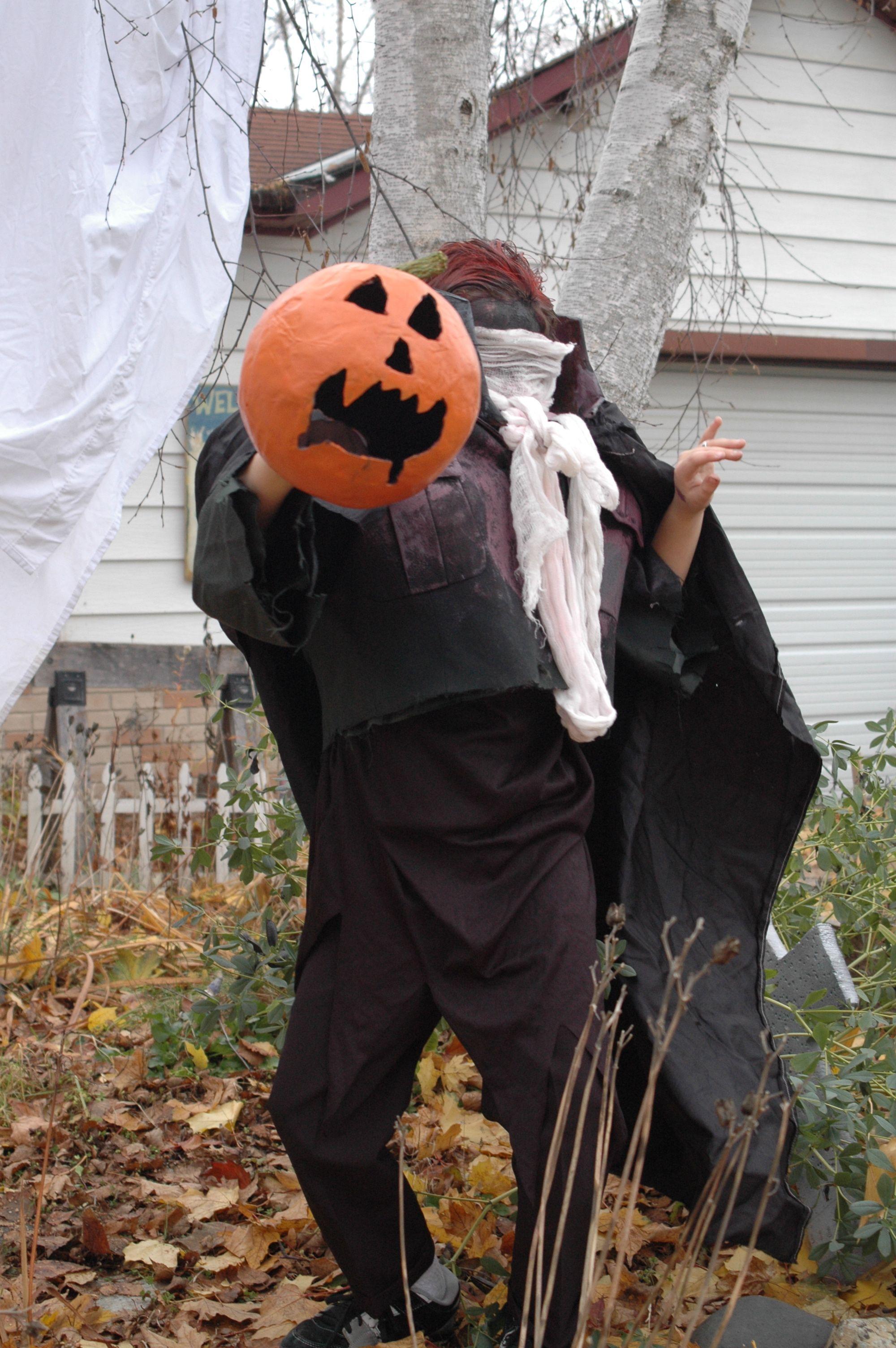 headless horseman costume halloween comiccon costumes diy halloween headless horseman costume - Sleepy Hollow Halloween Costumes
