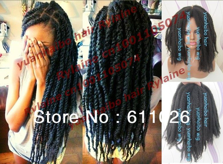 Stocking Fashion Top Quality Black Color Synthetic Hair Marley Twist Braid Free Shipping