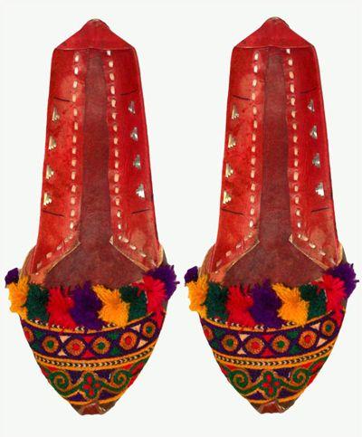 Pakistani Women Khussa Shoes Collection