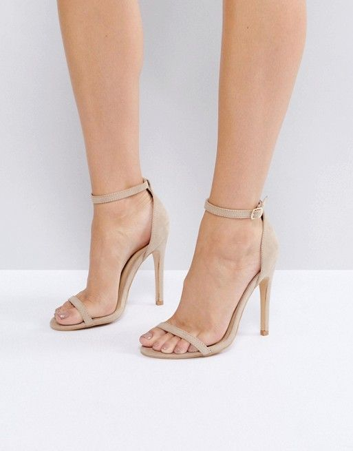 a753a334c0 Truffle Collection Barely There Heel Sandals | Footwear in 2019 ...
