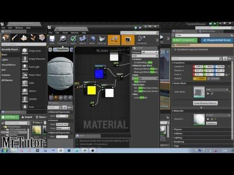 Unreal Engine 4 How To Change Normal Map Intensity Inside Ue4 Youtube Unreal Engine Normal Map Engineering